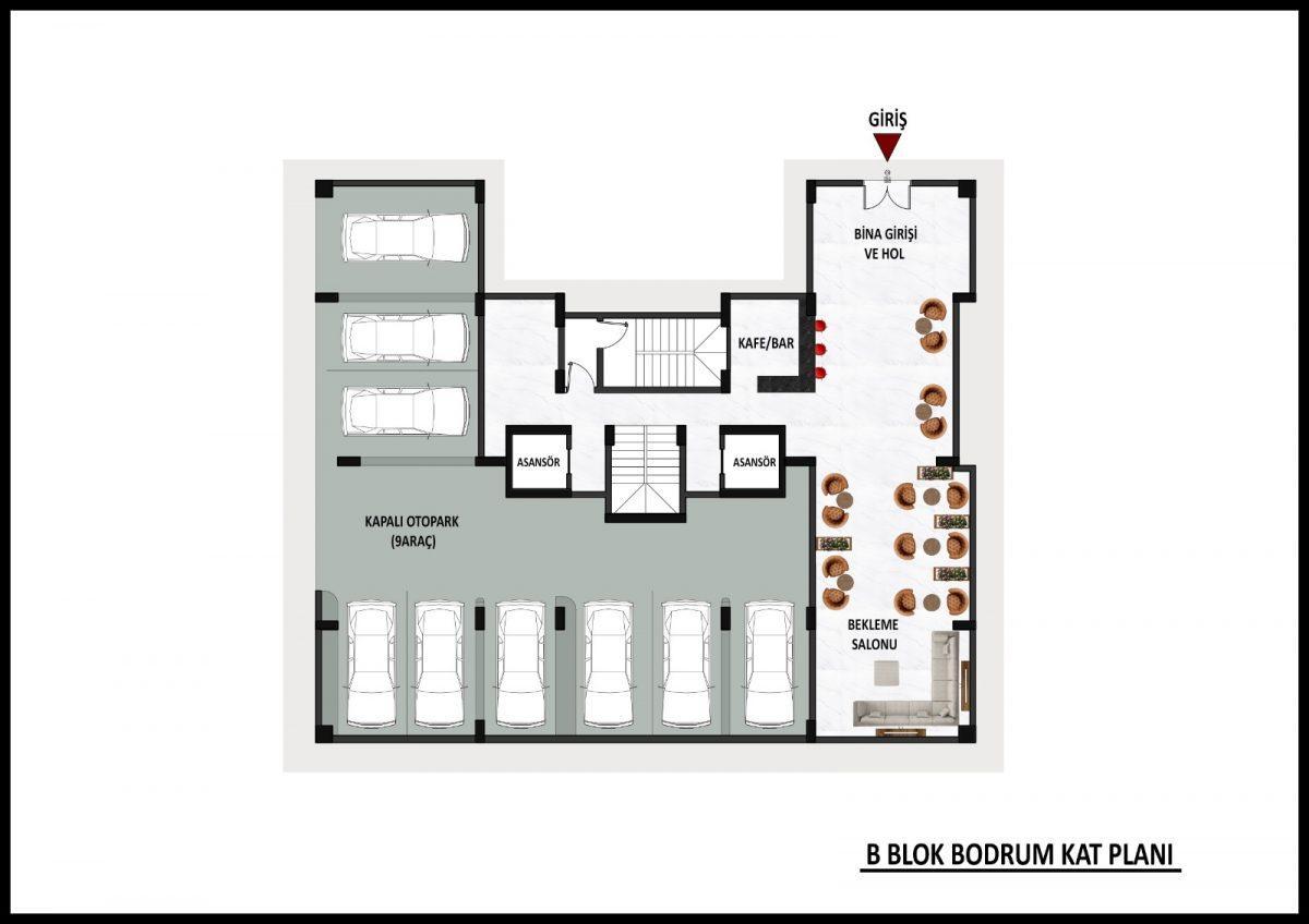 Новый жилой комплекс на этапе строительства в центре Алании - Фото 20