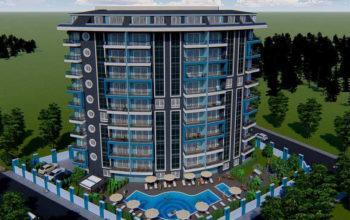 Новый инвестиционный проект в современном курортном районе Махмутлар