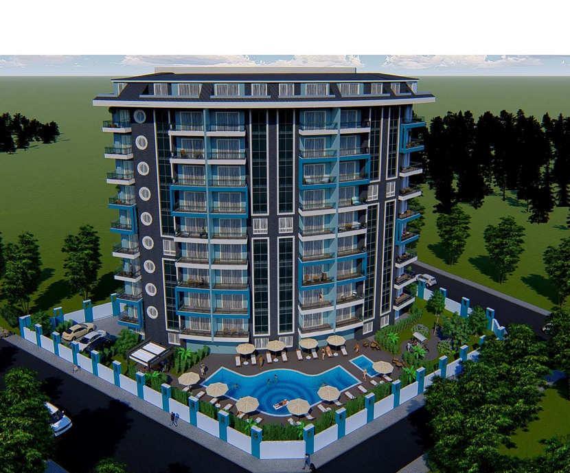 Новый инвестиционный проект в современном курортном районе Махмутлар - Фото 1