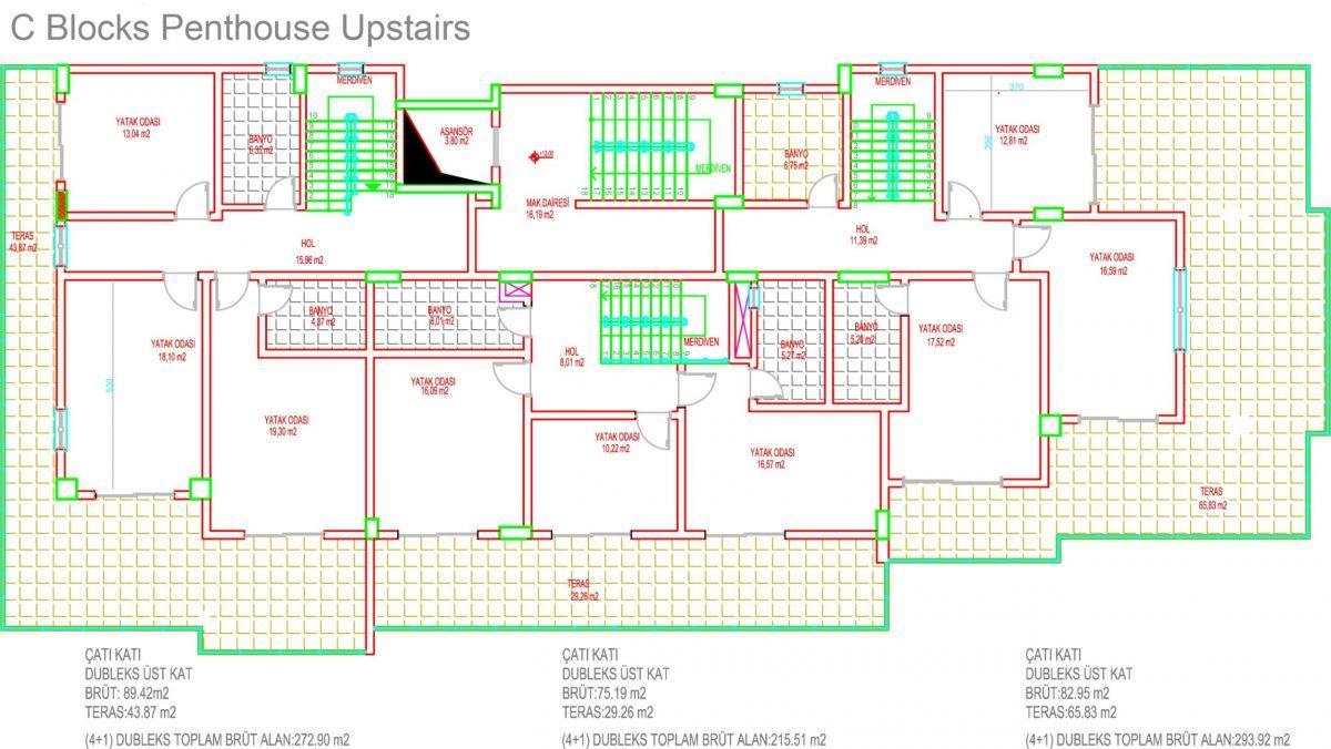 Многофункциональный комплекс апартаментов и вилл класса люкс в районе Каргыджак  - Фото 41