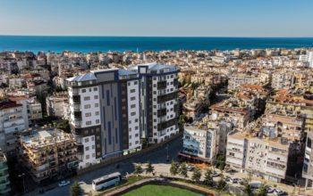 Современный жилой комплекс рядом с пляжем Клеопатра