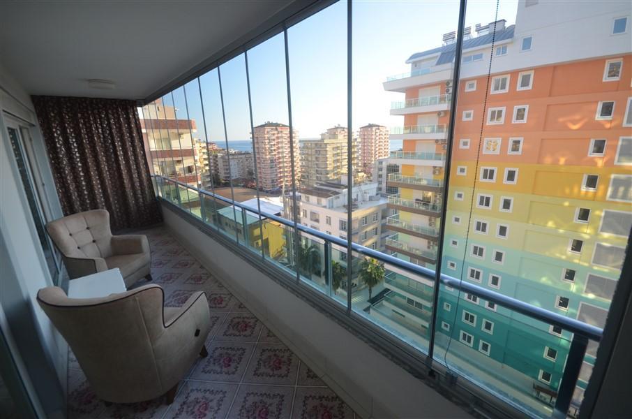 Просторная меблированная квартира 1+1 в Махмутларе в 250 метрах от моря - Фото 14