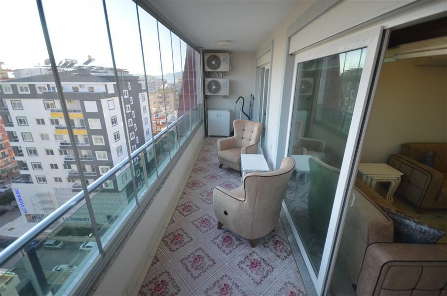 Просторная меблированная квартира 1+1 в Махмутларе в 250 метрах от моря - Фото 16