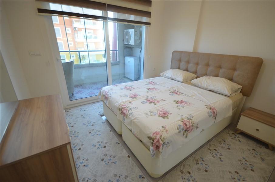 Просторная меблированная квартира 1+1 в Махмутларе в 250 метрах от моря - Фото 17