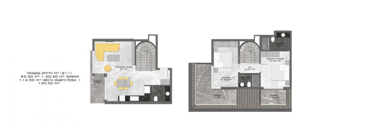 Стильный жилой комплекс с великолепной локацией в самом центре Алании - Фото 27