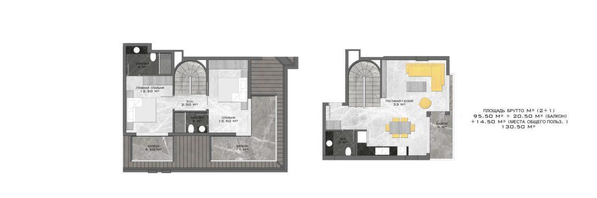 Стильный жилой комплекс с великолепной локацией в самом центре Алании - Фото 28