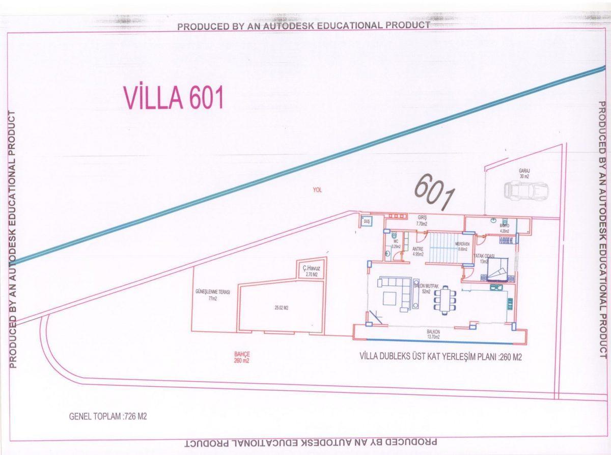 Многофункциональный комплекс апартаментов и вилл класса люкс в районе Каргыджак  - Фото 42