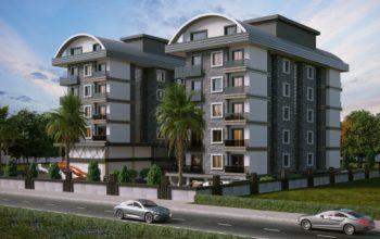 Новый и современный комплекс в экологически чистом районе Каргыджак