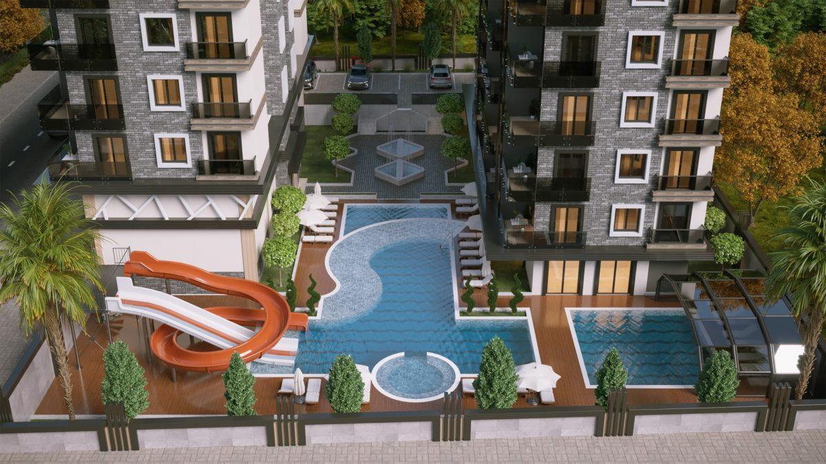 Новый и современный комплекс в экологически чистом районе Каргыджак - Фото 12