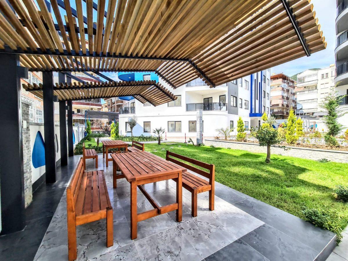 Новая трехкомнатная квартира в центре Алании - Фото 9