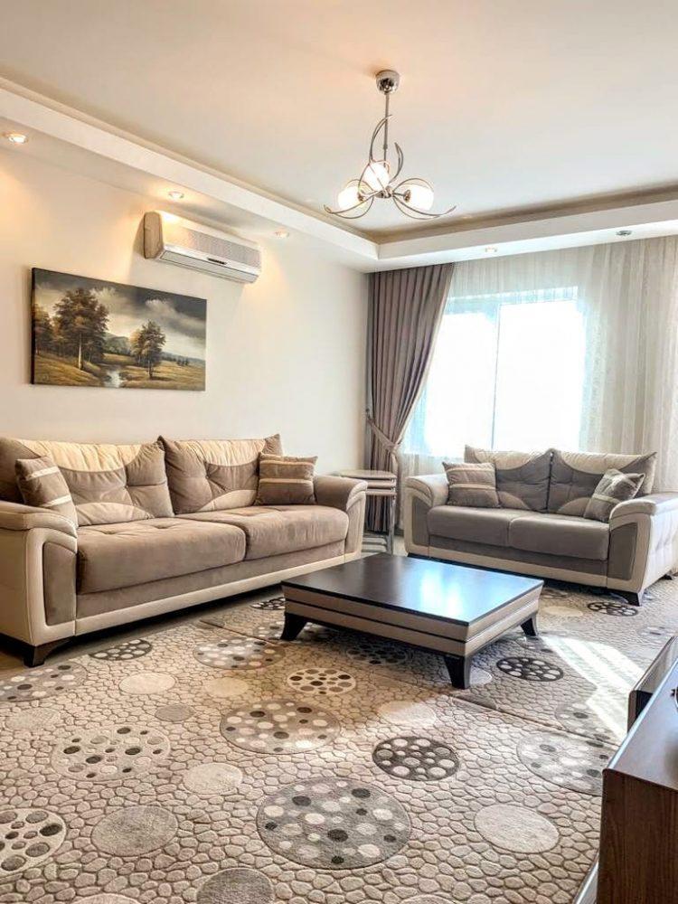 Просторная квартира 2+1 в известном комплексе в Махмутларе - Фото 10