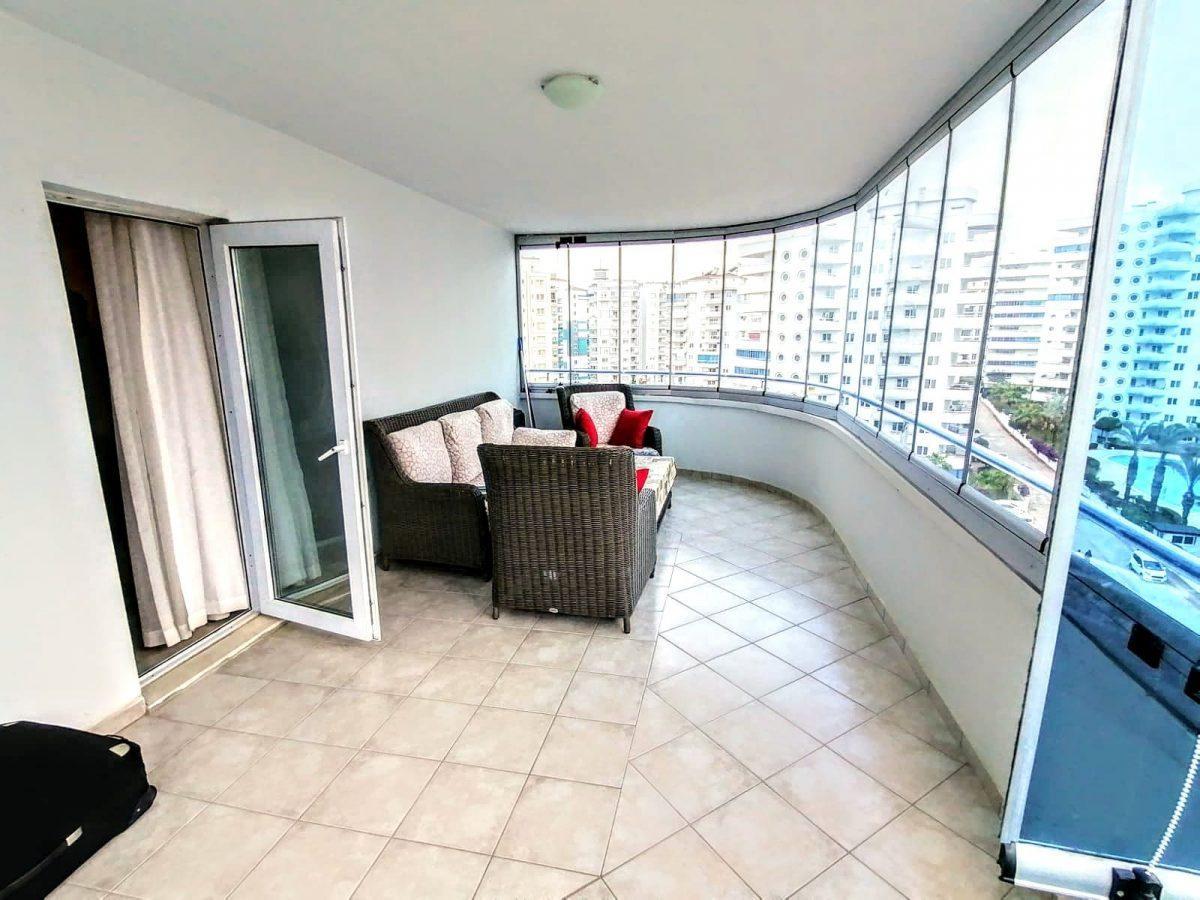 Просторная квартира 2+1 в известном комплексе в Махмутларе - Фото 18