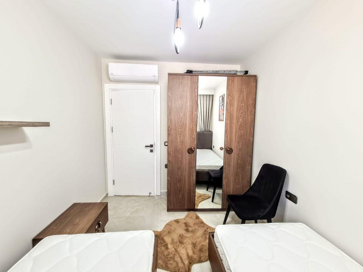 Квартира 2+1 на первой береговой линии в Махмутларе - Фото 14
