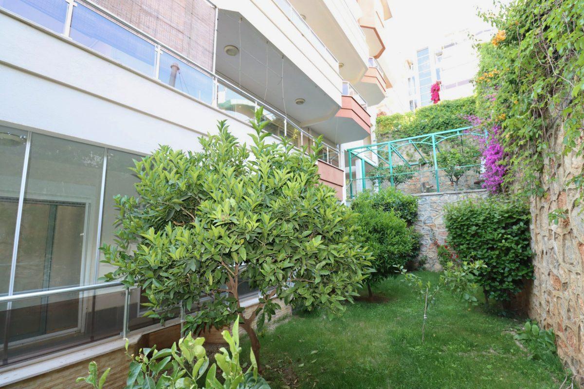 Просторная квартира с выходом в сад в районе Конаклы - Фото 2
