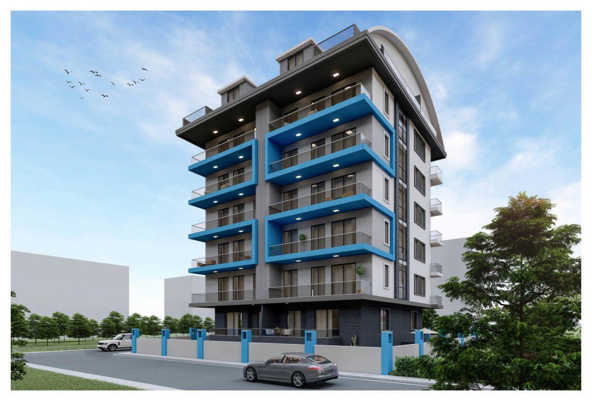 Новый жилой комплекс в популярном русскоязычном районе Махмутлар - Фото 1