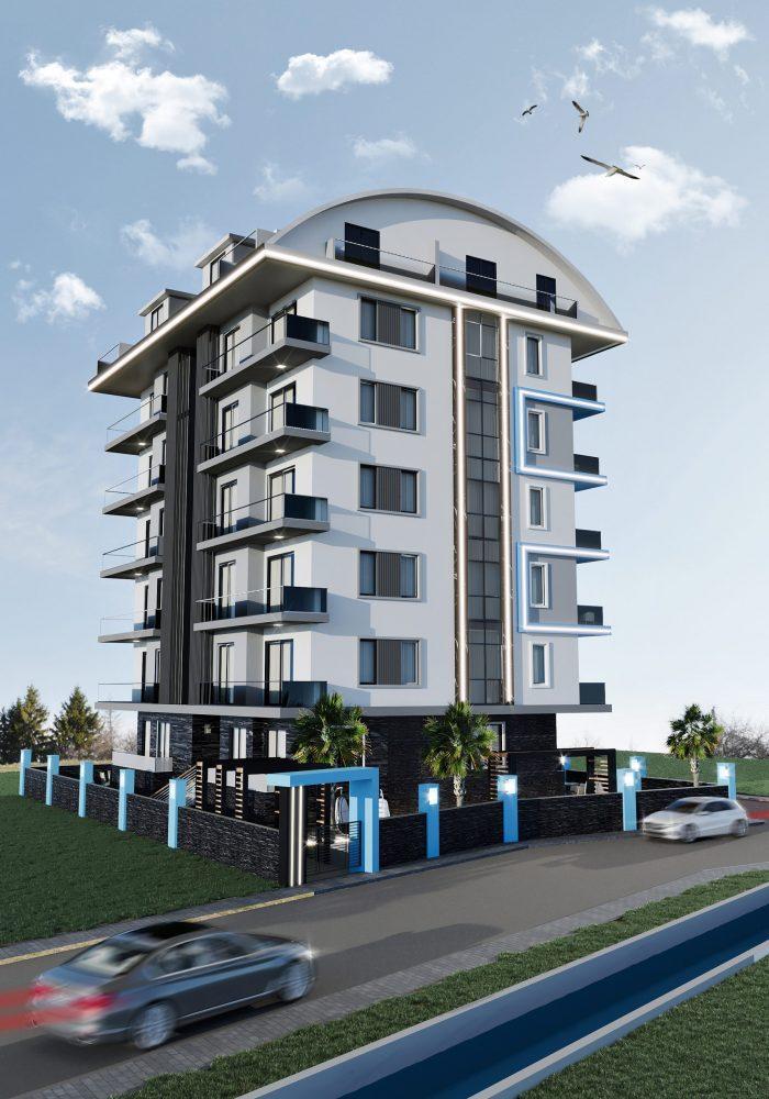 Новый жилой комплекс в популярном русскоязычном районе Махмутлар - Фото 7