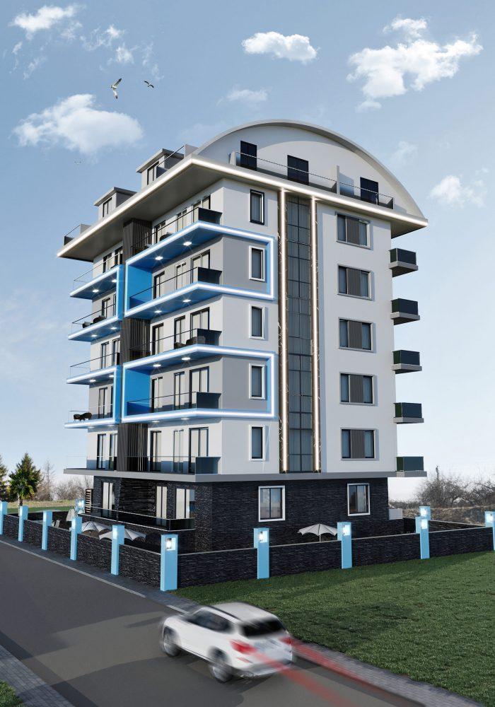 Новый жилой комплекс в популярном русскоязычном районе Махмутлар - Фото 8