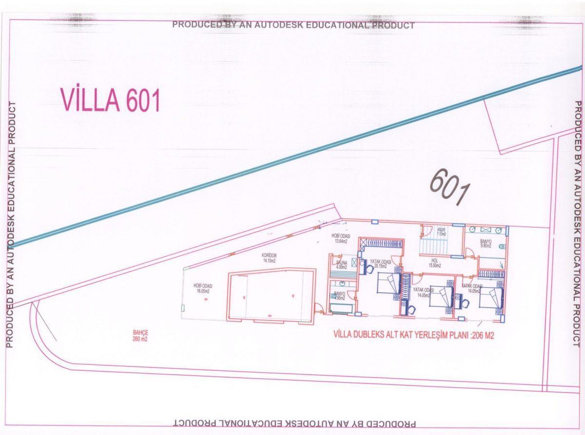 Многофункциональный комплекс апартаментов и вилл класса люкс в районе Каргыджак  - Фото 43