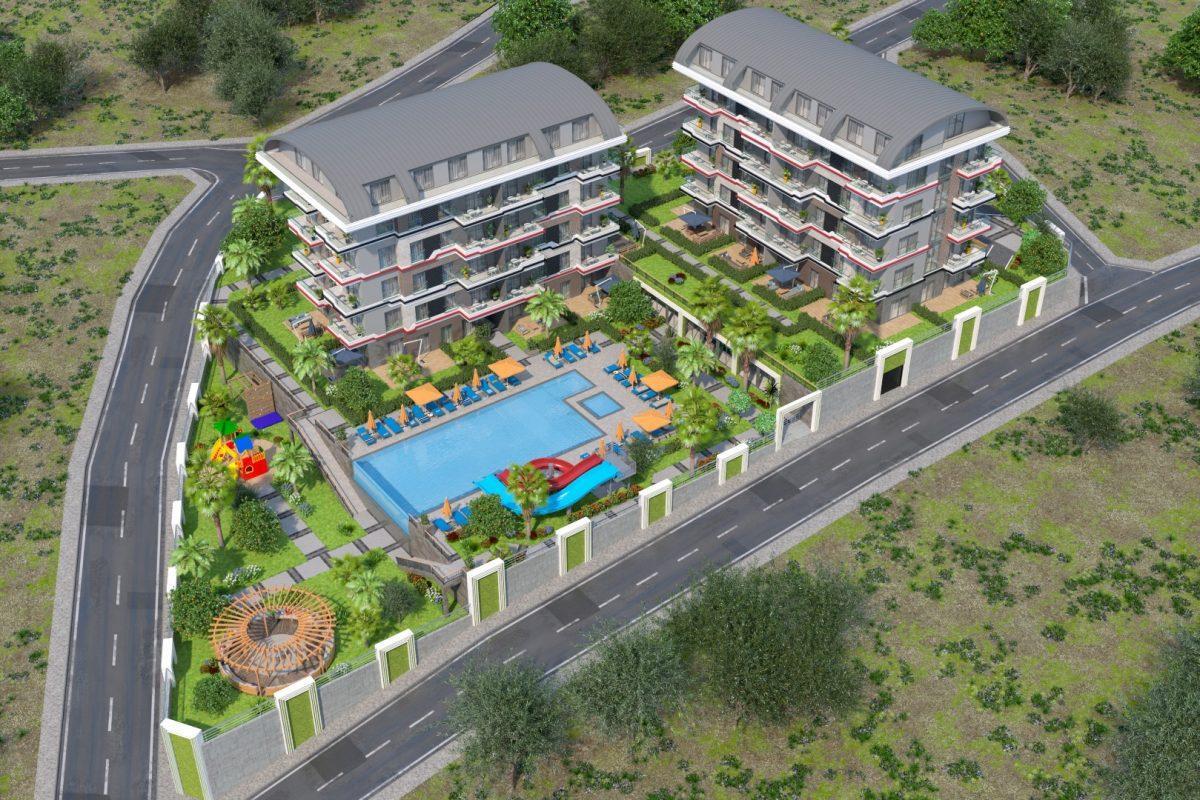Новый проект жилого комплекса в престижном районе Каргыждак - Фото 1