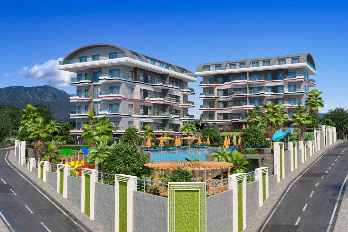 Новый проект жилого комплекса в престижном районе Каргыждак - Фото 7