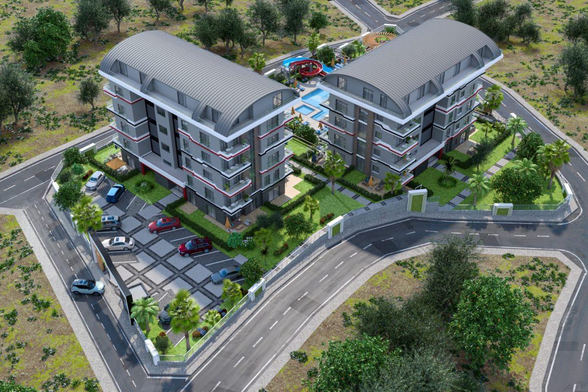 Новый проект жилого комплекса в престижном районе Каргыждак - Фото 13
