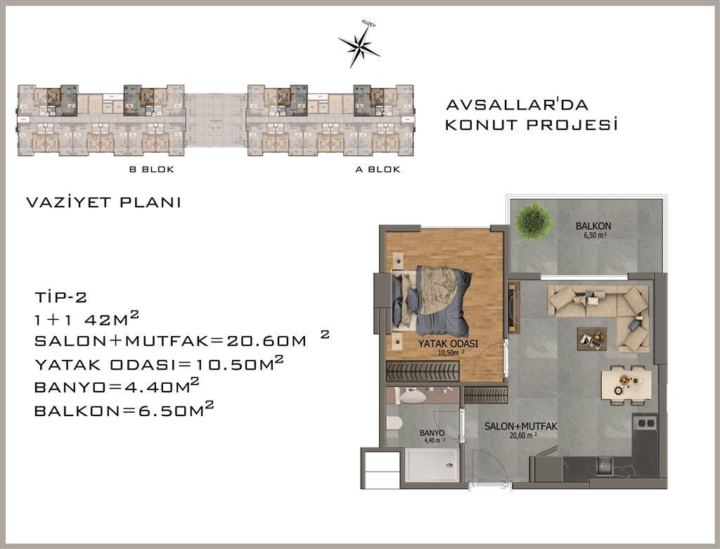 Новый жилой комплекс в районе Авсалар - Фото 26