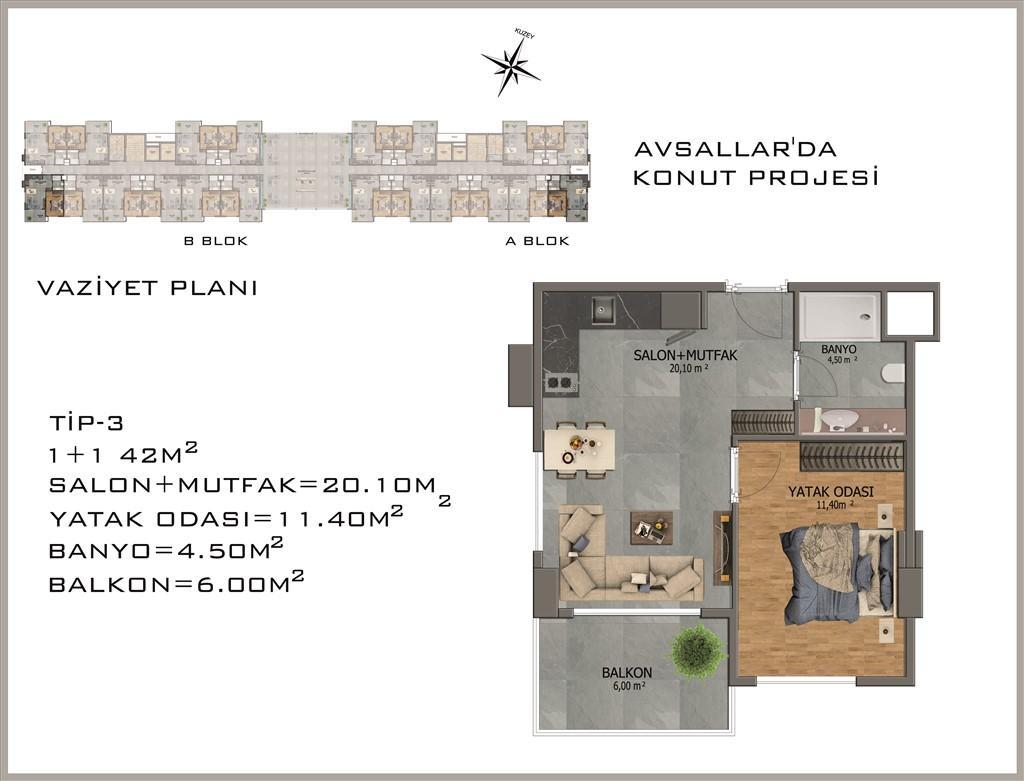 Новый жилой комплекс в районе Авсалар - Фото 27
