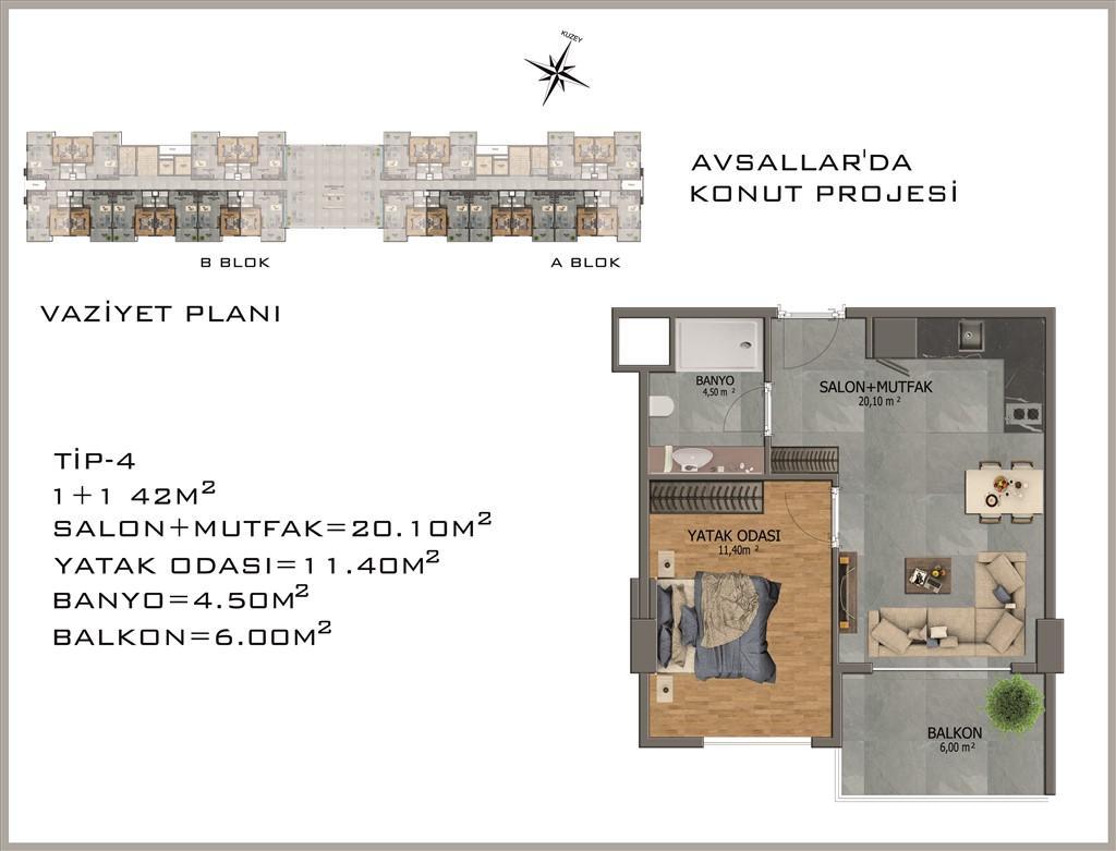 Новый жилой комплекс в районе Авсалар - Фото 28