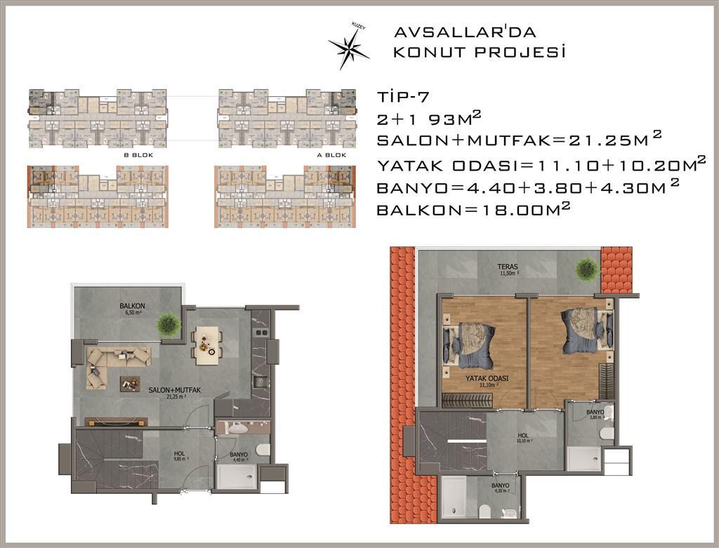 Новый жилой комплекс в районе Авсалар - Фото 31