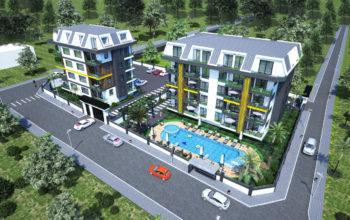 Новый проект в тихом и уютном районе Кестель в 700 метрах от моря