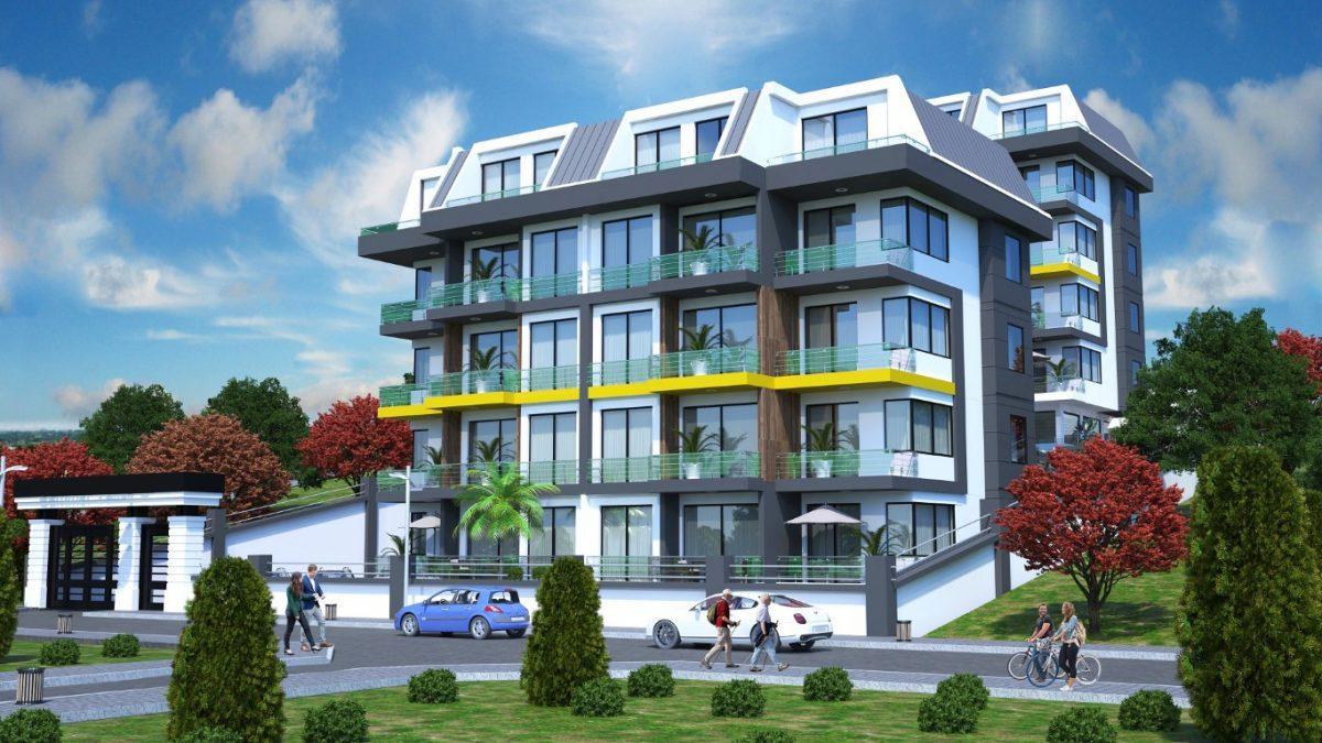Новый инвестиционный проект в элитном районе Алании Кестель - Фото 2
