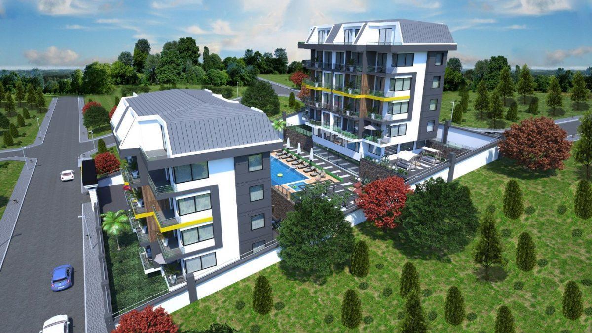 Новый инвестиционный проект в элитном районе Алании Кестель - Фото 11