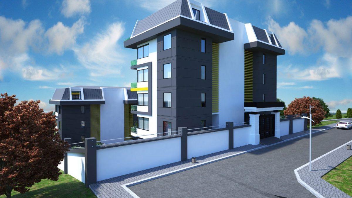 Новый инвестиционный проект в элитном районе Алании Кестель - Фото 12