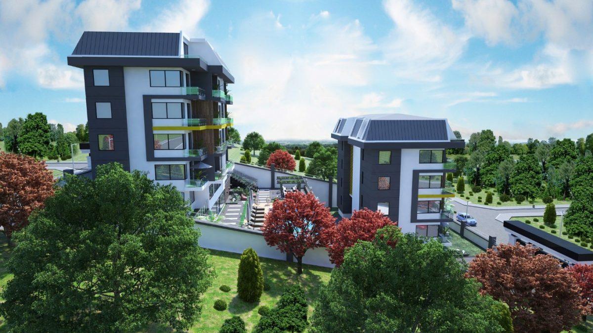 Новый инвестиционный проект в элитном районе Алании Кестель - Фото 13