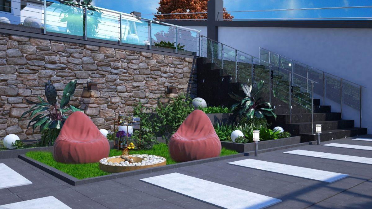 Новый инвестиционный проект в элитном районе Алании Кестель - Фото 4