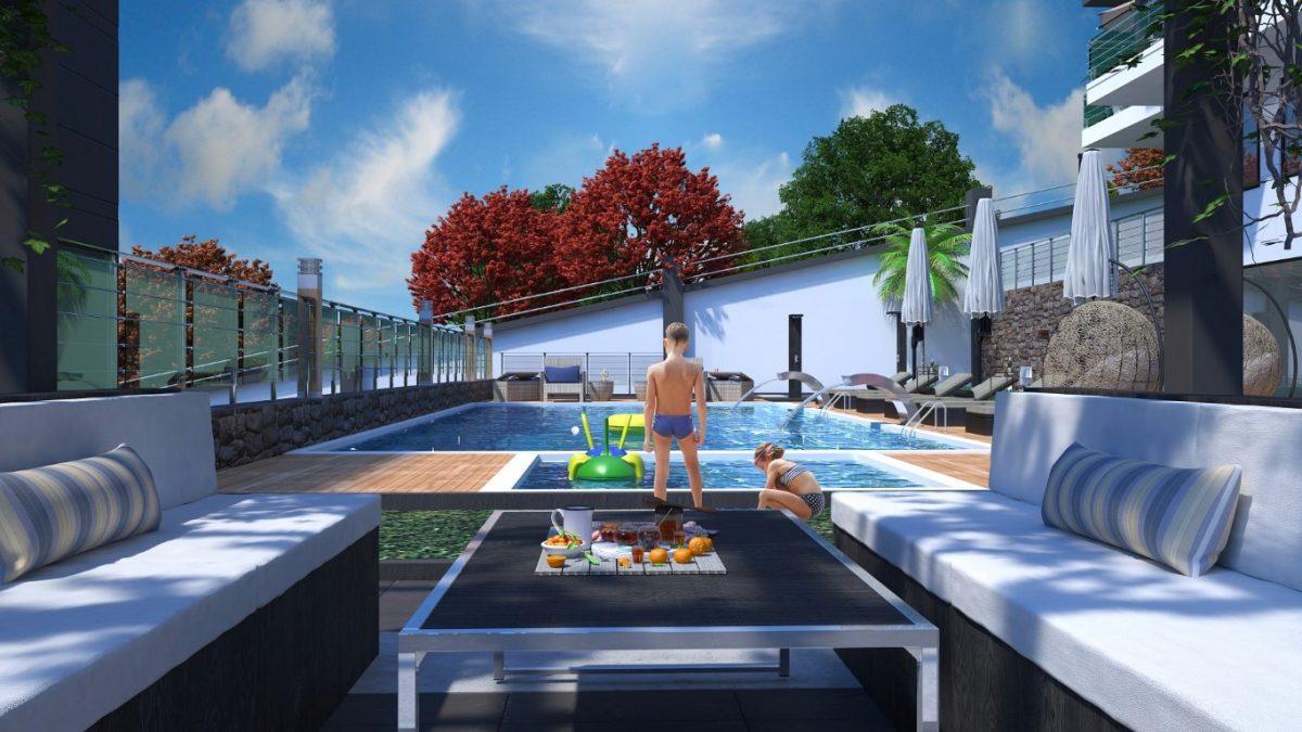 Новый инвестиционный проект в элитном районе Алании Кестель - Фото 6