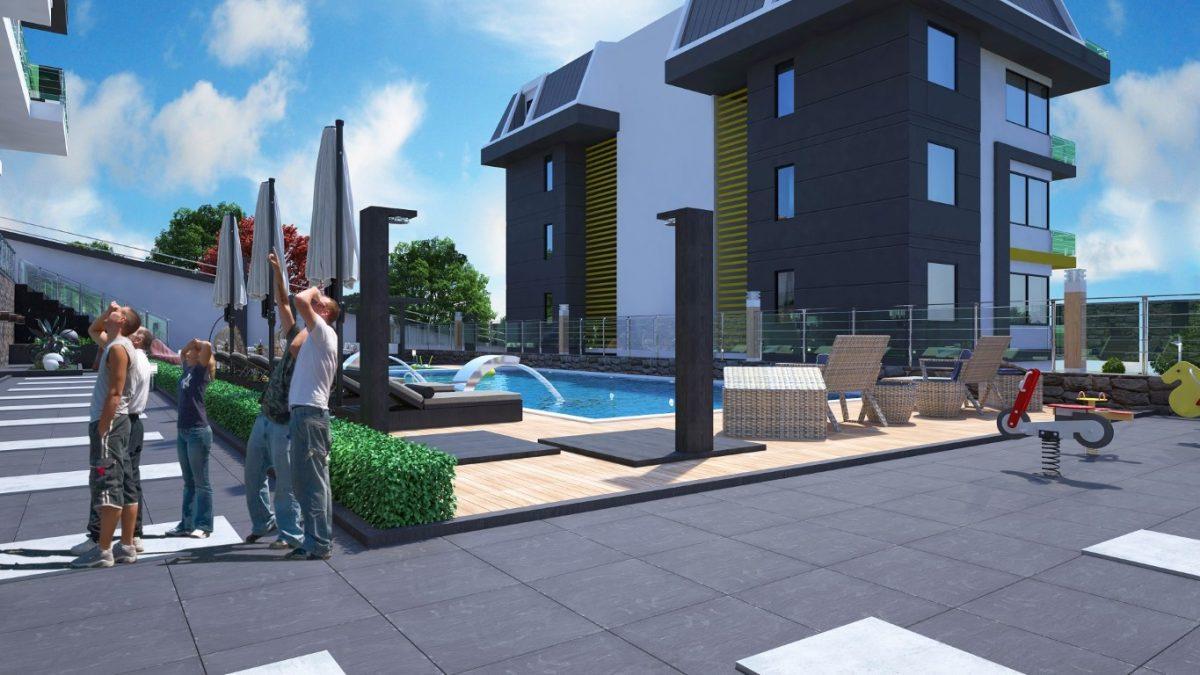 Новый инвестиционный проект в элитном районе Алании Кестель - Фото 7