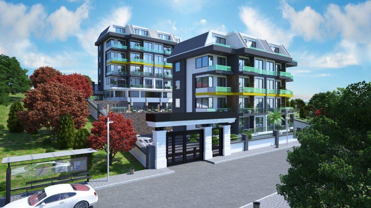 Новый инвестиционный проект в элитном районе Алании Кестель - Фото 9