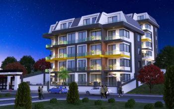 Новый инвестиционный проект в элитном районе Алании Кестель