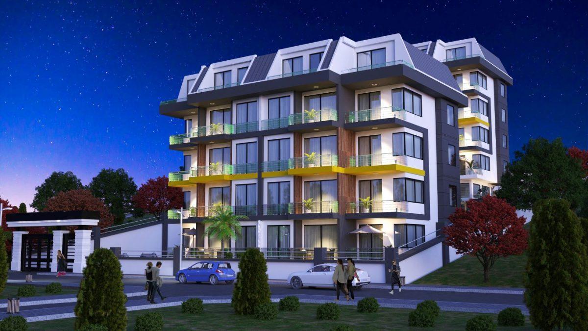Новый инвестиционный проект в элитном районе Алании Кестель - Фото 1