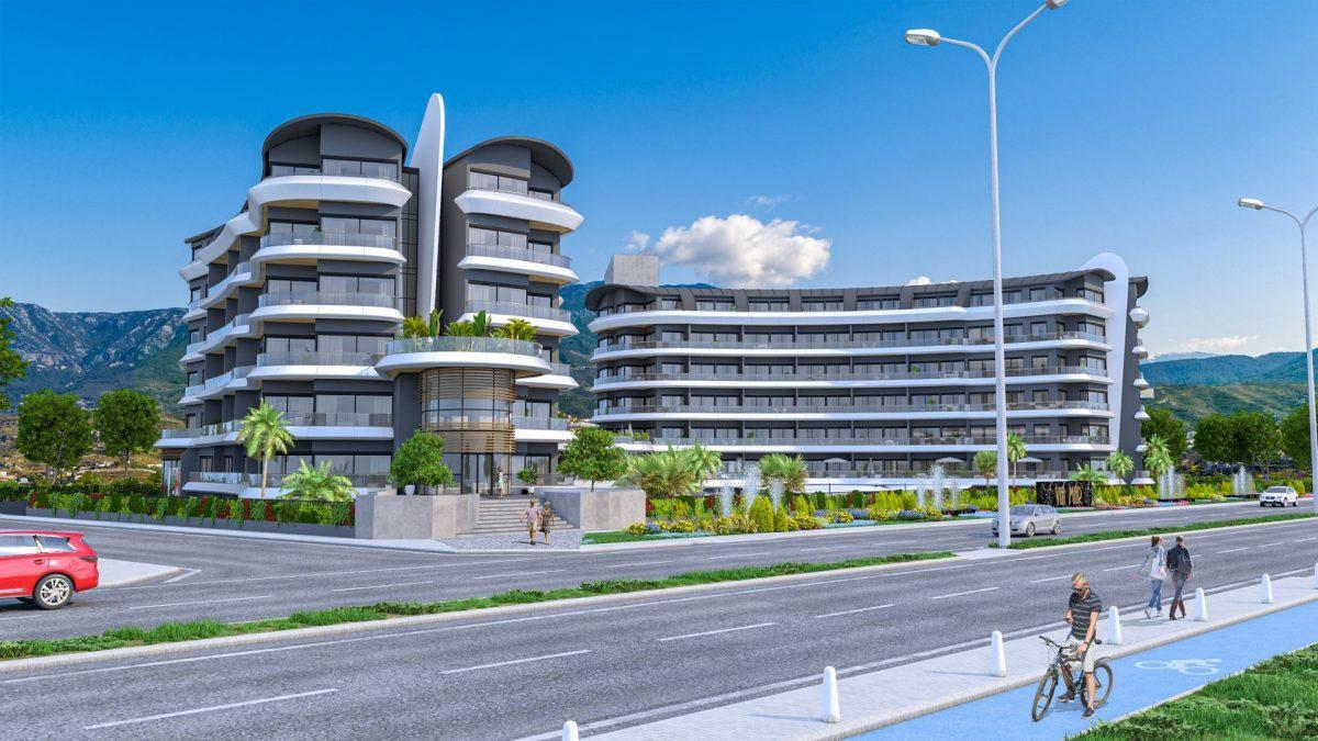 Жилой комплекс премиум-класса на берегу моря, в районе Каргыджак - Фото 2