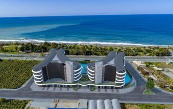 Жилой комплекс премиум-класса на берегу моря, в районе Каргыджак