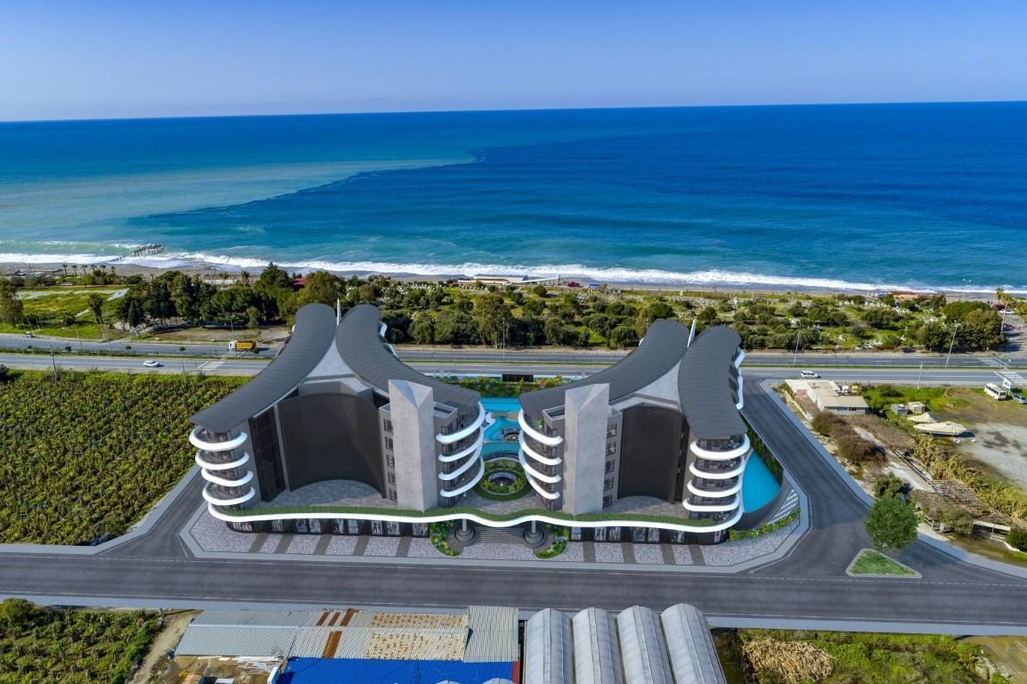 Жилой комплекс премиум-класса на берегу моря, в районе Каргыджак - Фото 1