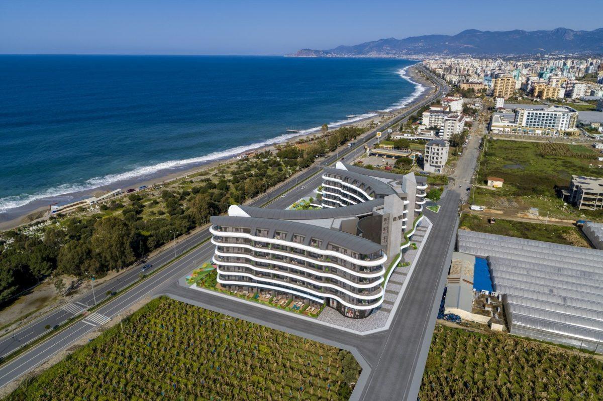 Жилой комплекс премиум-класса на берегу моря, в районе Каргыджак - Фото 8