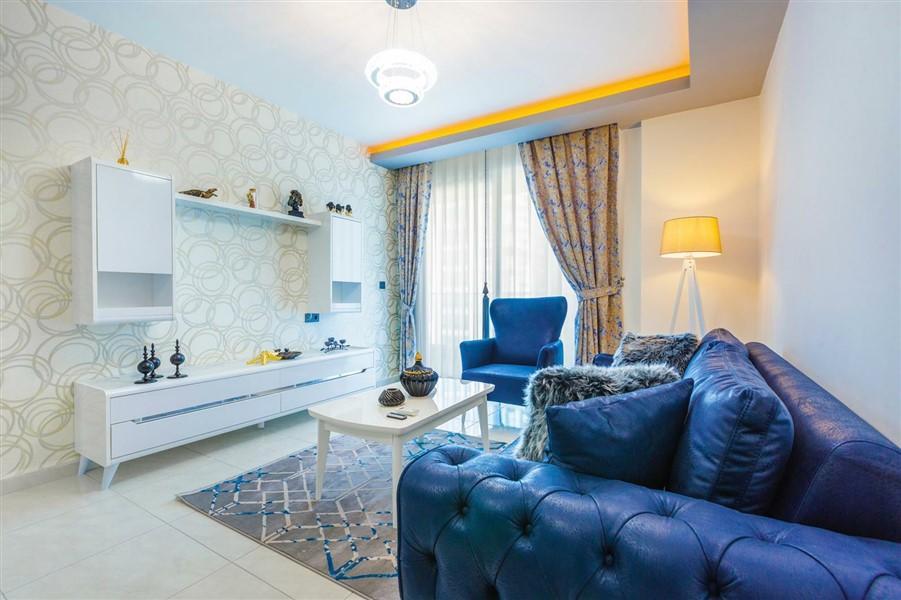 Квартира 2+1 с мебелью и техникой в Махмутларе - Фото 16