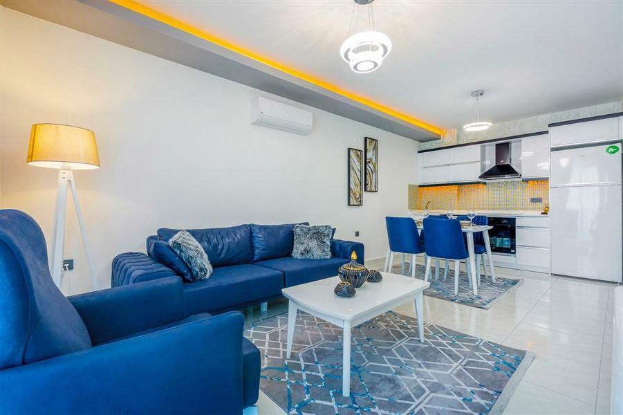 Квартира 2+1 с мебелью и техникой в Махмутларе - Фото 18