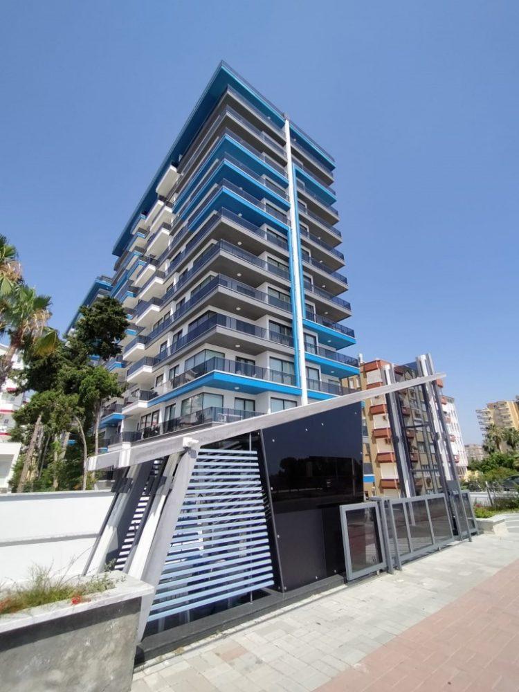 Современный жилой комплекс на первой линии у моря в районе Махмутлар - Фото 3