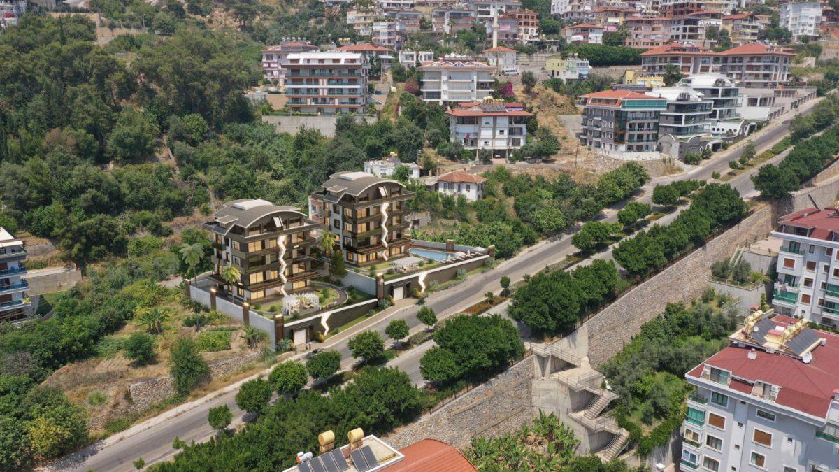 Жилой комплекс с панорамными видами в центре Алании - Фото 7