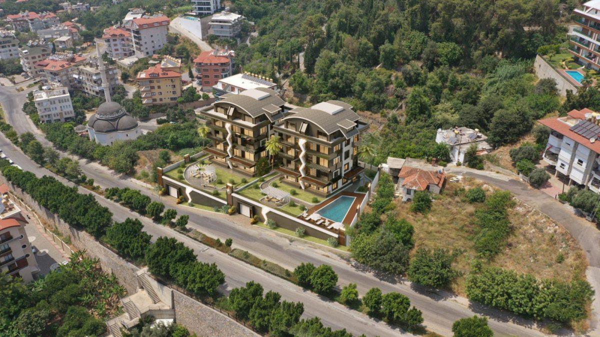 Жилой комплекс с панорамными видами в центре Алании - Фото 6