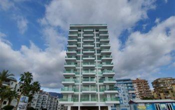 Квартира 1+1 в новом комплексе на первой береговой линии